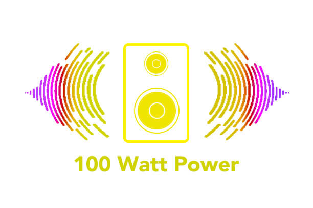 100watt power